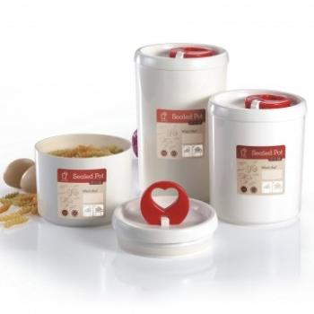 Anya Sealed Pot Gift Set - Round
