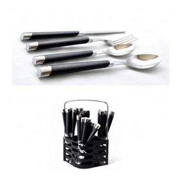 24 Piece Stainless Steel Spoon Fork n Knife Set
