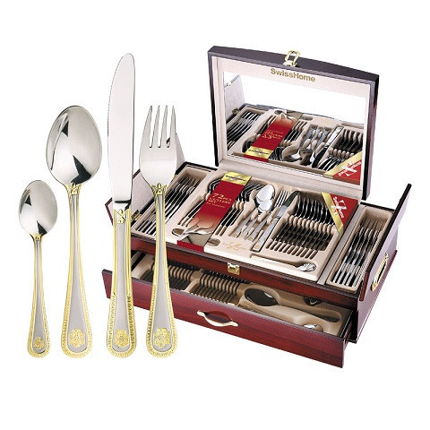 Hoffmayer 72 Piece Cutlery Set