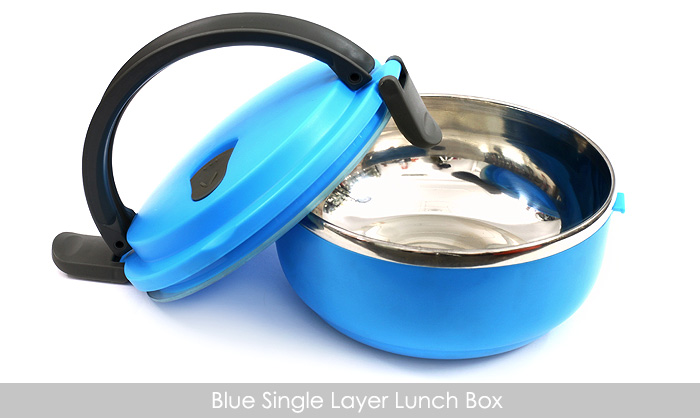 1 Layer Stainless Steel Lunch Box in Pakistan