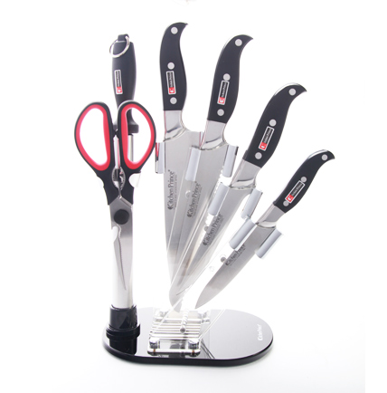 7 piece Steel Knife Set