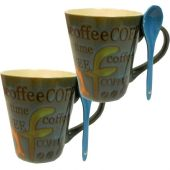 Heavy Coffee Mug Pack of 2