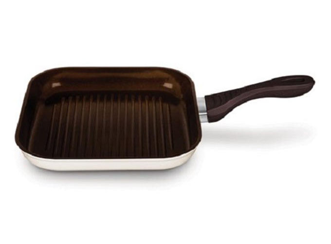 New Ceramic Grill Pan Milky