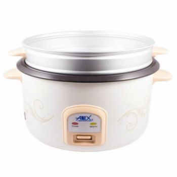 Anex AG 2023 Deluxe Rice Cooker White
