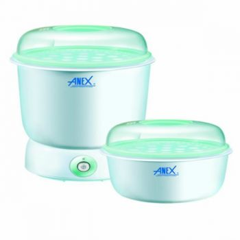 Anex AG 735 Deluxe Baby Bottle Sterilizer 2 in 1 S