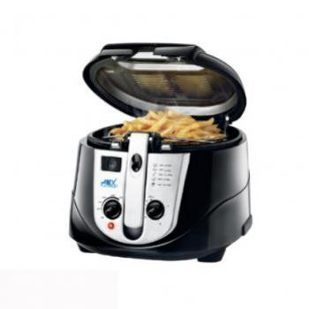 ANEX DEEP FRYER BLACK WITH TIMER AG-2014