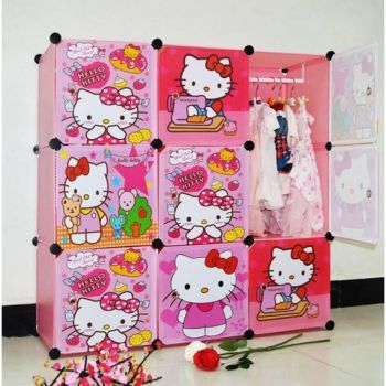 Kitty Cabinets Wardrobe for children
