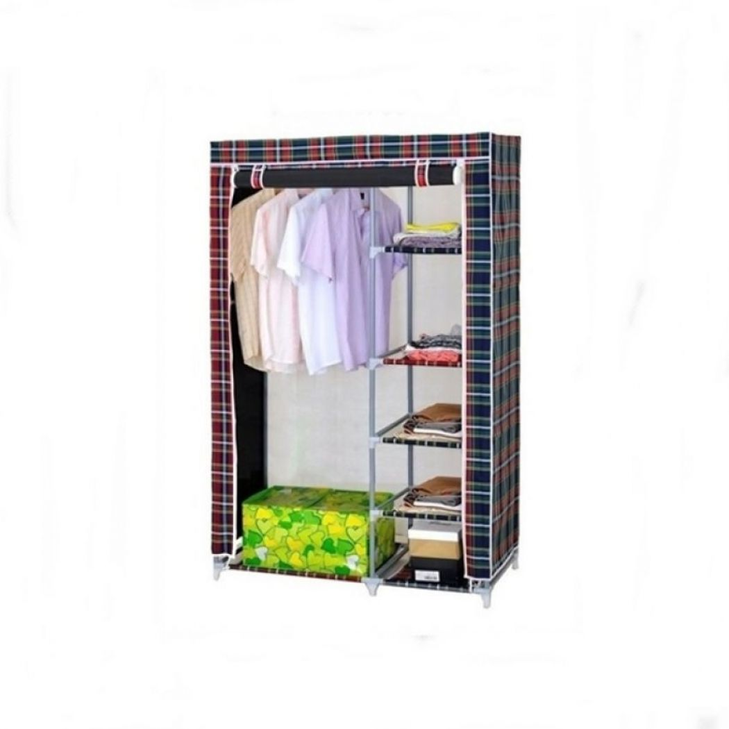 Portable Canvas Wardrobe