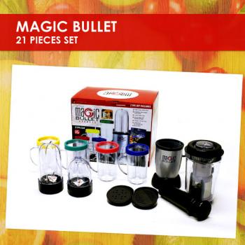 The Magic Bullet Blender (21 Pieces Set)