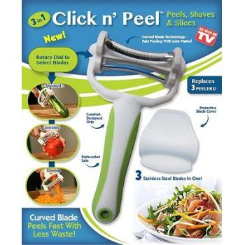 The 3 in 1 Click N Peel  from As Seen on TV