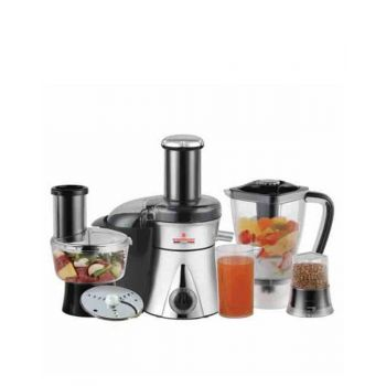 WF-1858 Food Processor White-Black