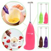 Battery Operated handheld beater mixer for milk, c
