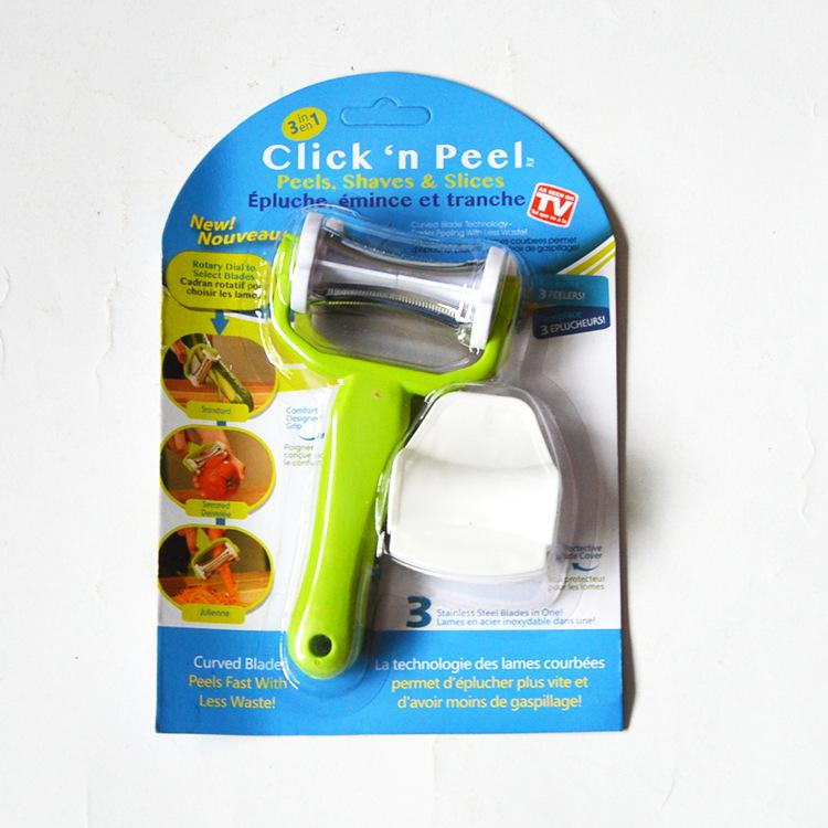 The 3-in-1 Click 'N Peel, from As Seen on TV
