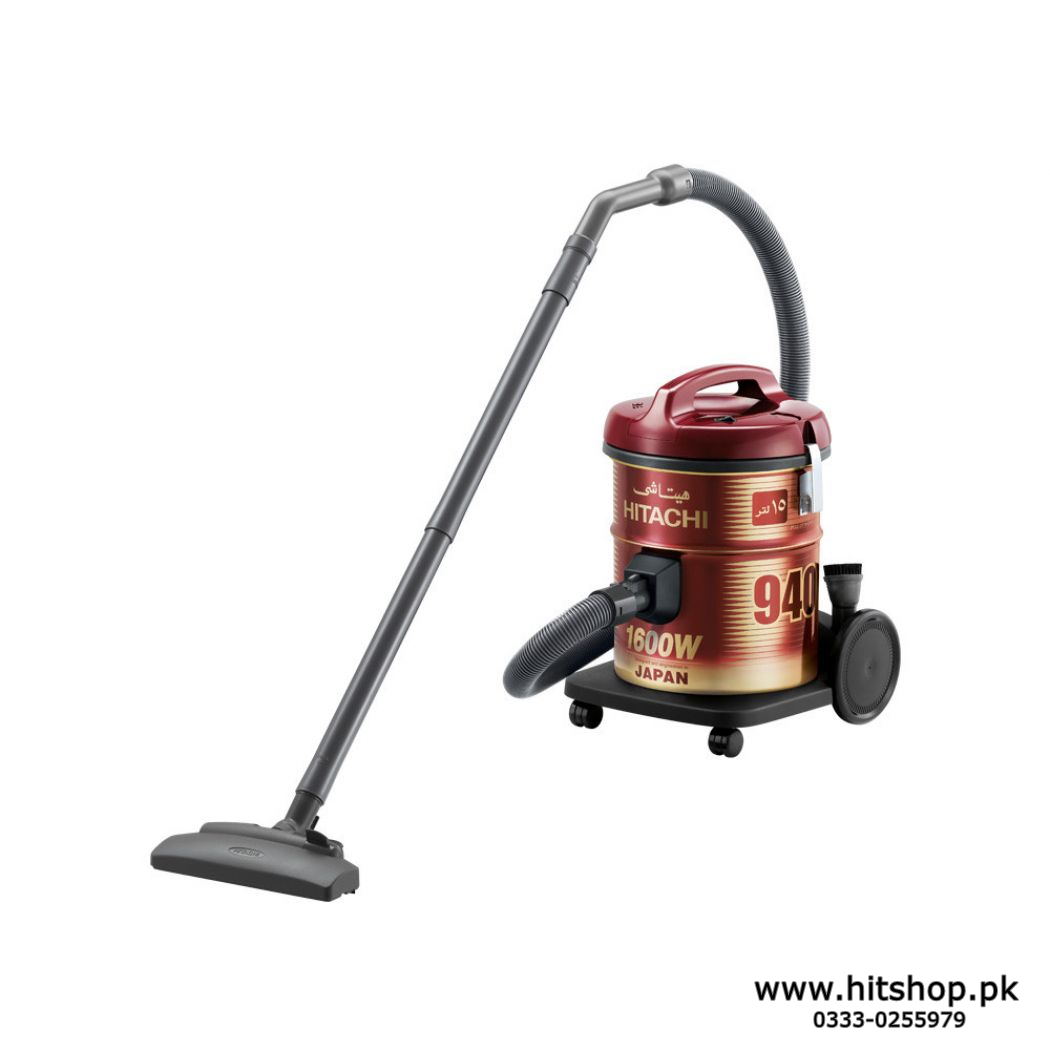 Original HITACHI Pail Can Vacuum Cleaner 1600 Watt