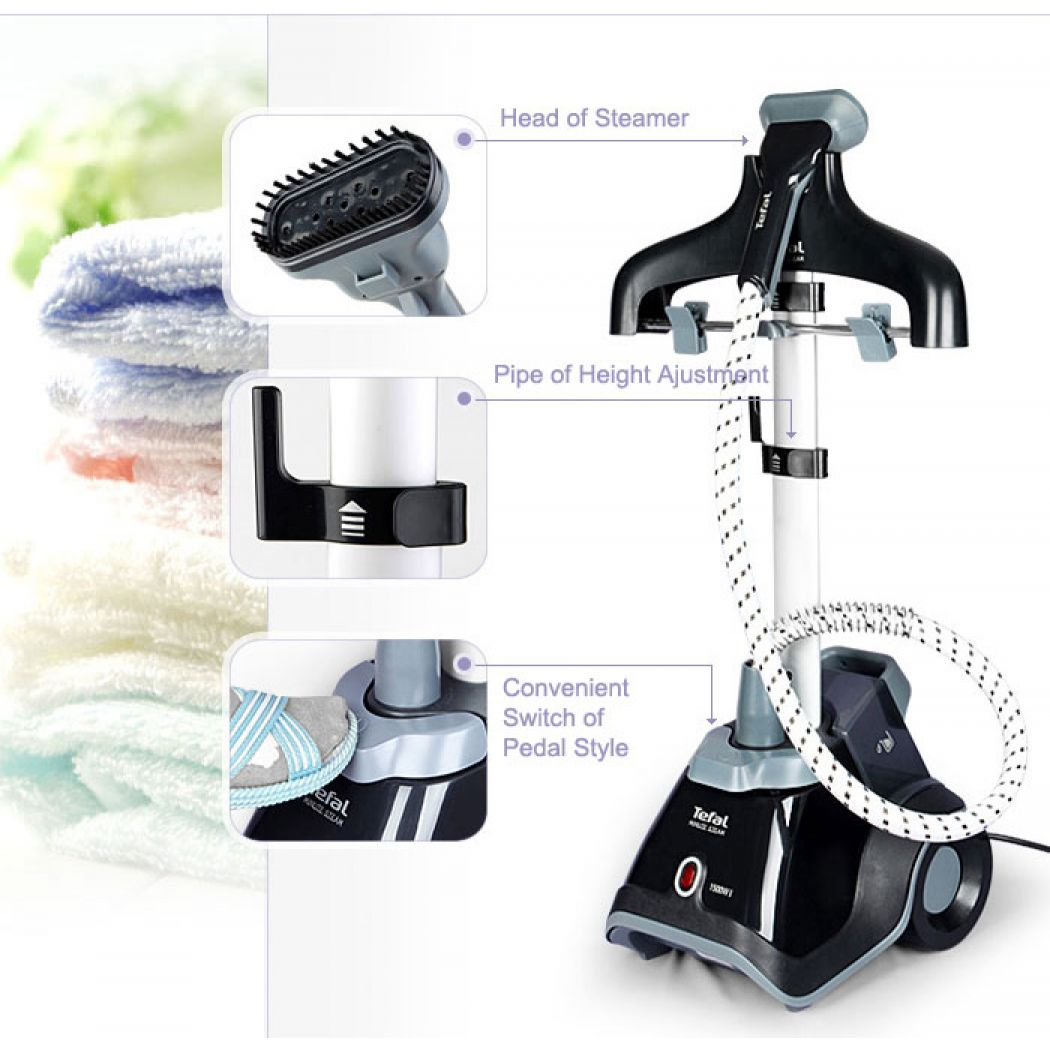 TEFAL GARMENT STEAMER MINUTE STEAM