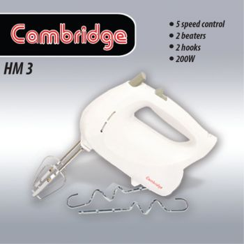 Cambridge Hand Mixer Hm-03