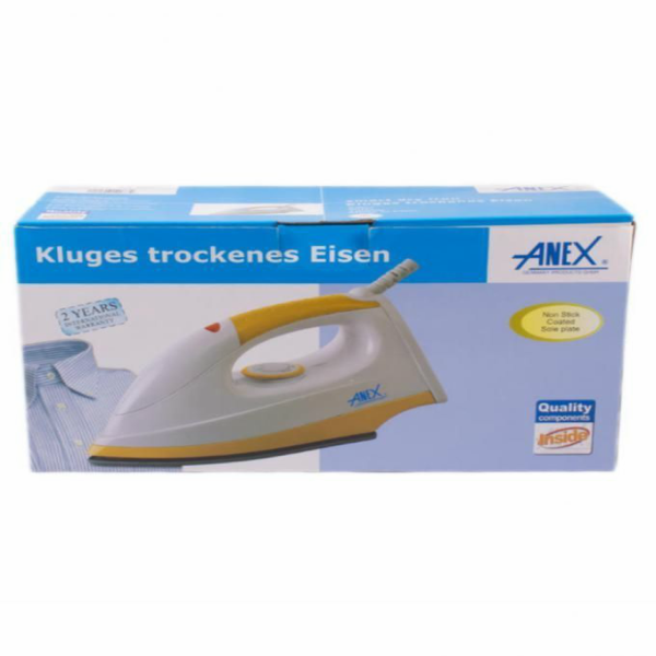 Anex AG 2073 Dry Iron White and Yellow