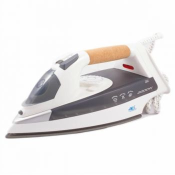 Anex AG 1022 Deluxe Steam Iron White and Grey