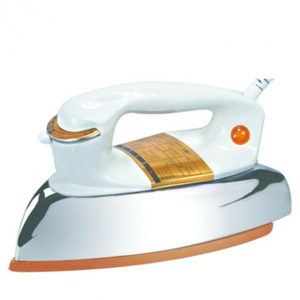 Anex Dry Iron AG-2072 1000 Watt White and Grey Brand Warranty