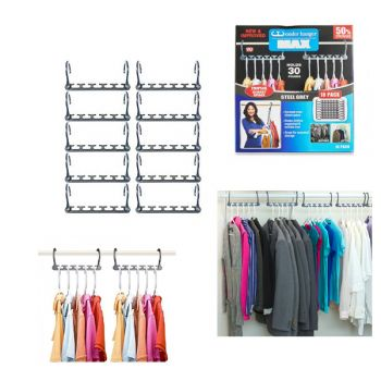 Perfect Organized Clothset Space Wonder Hanger Set