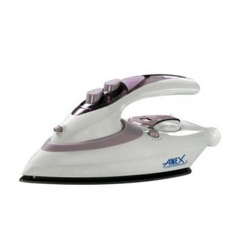 Anex AG 1074 Travel Iron White Brand Warranty