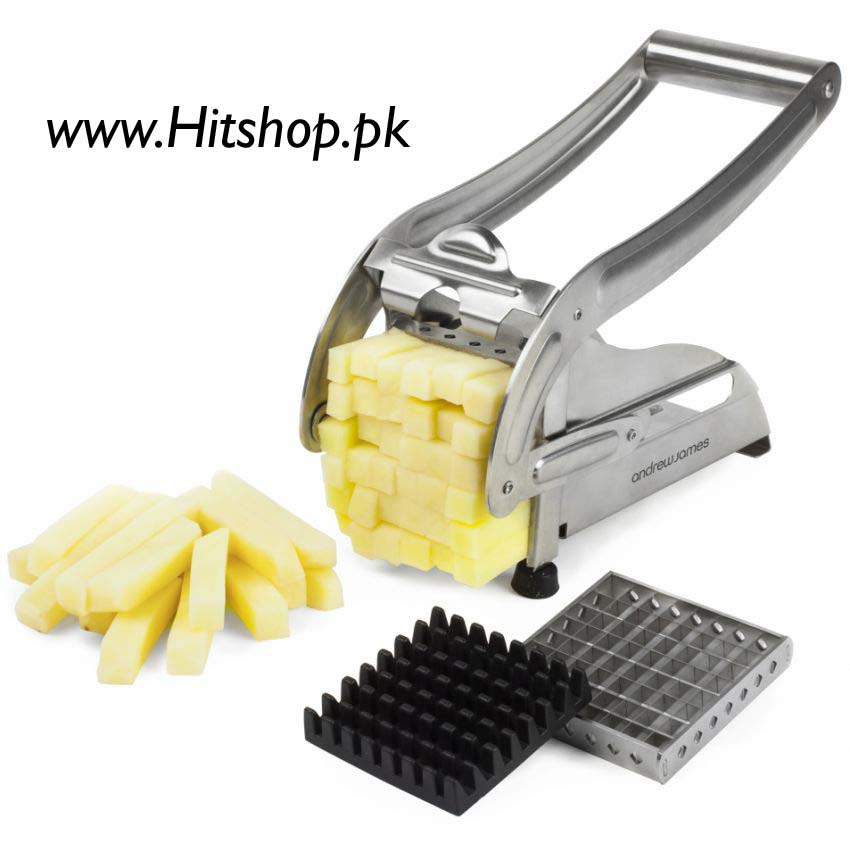 Potato Chipper Heavy Duty Silver