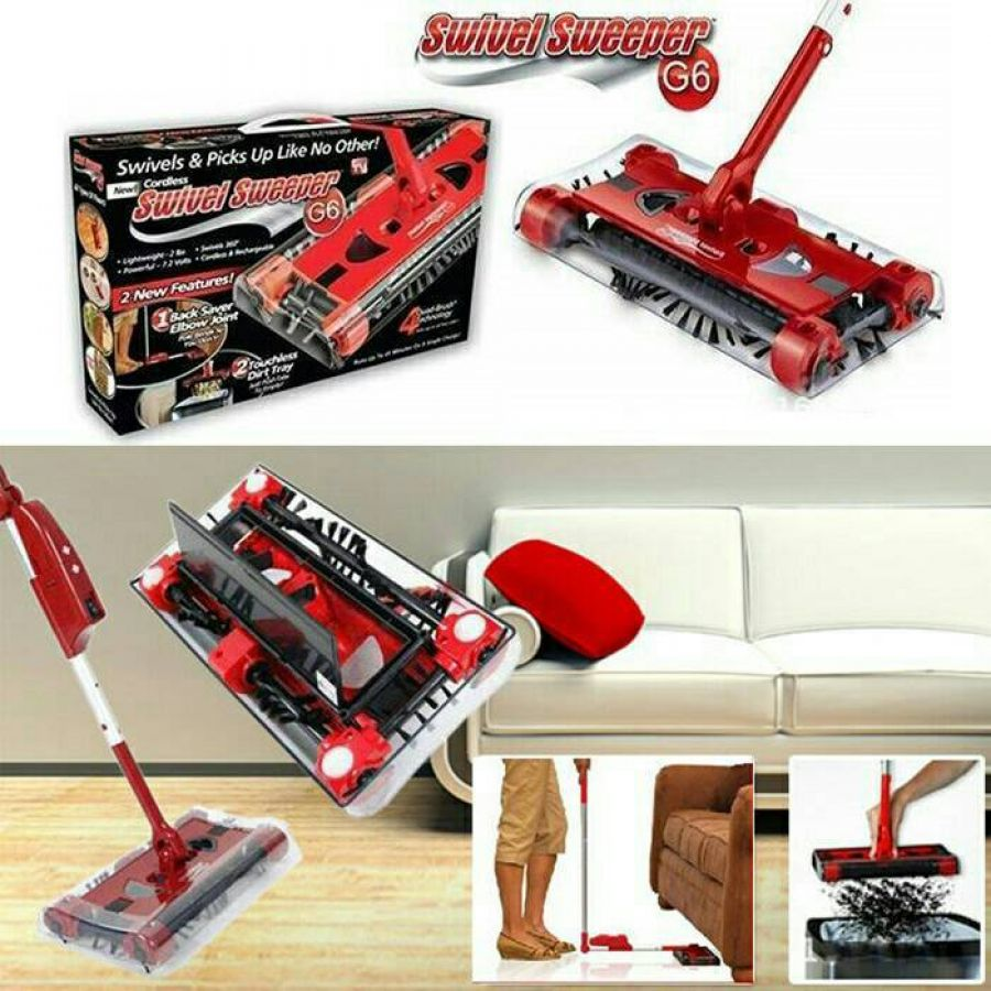 Cordless Swivel Sweeper 1