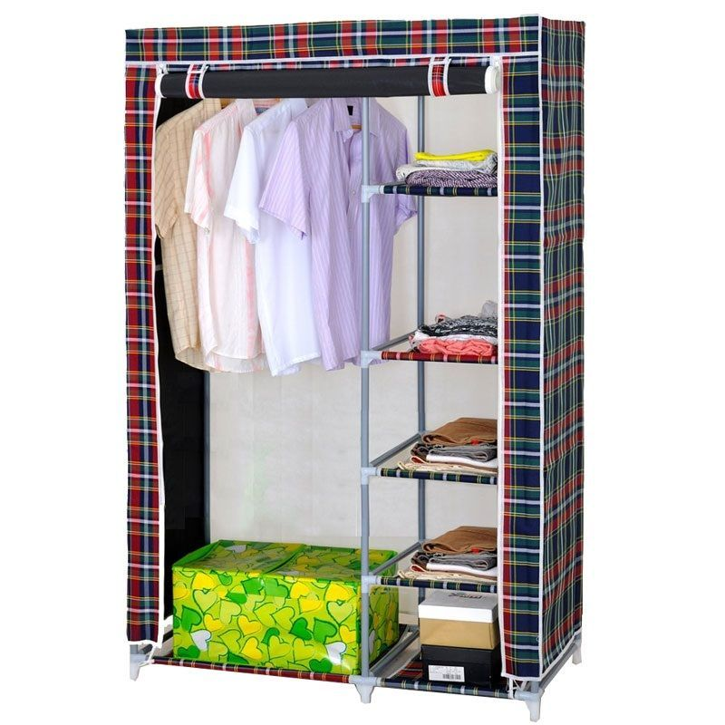 5 Shelves Storage Wardrobe