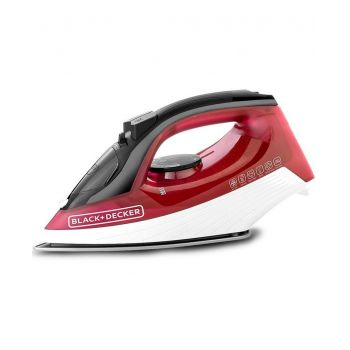 Black And Decker X1550 Steam Iron Red