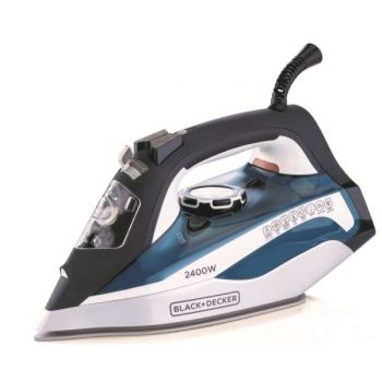 Black ND Decker Steam iron 2400wt X2150 White N Bl