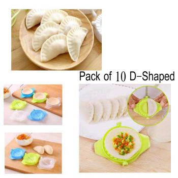 10 Pcs Pack New DShaped Samosa Maker Mould