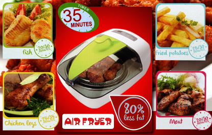 Geepass Air Fryer for Healthy Cooking
