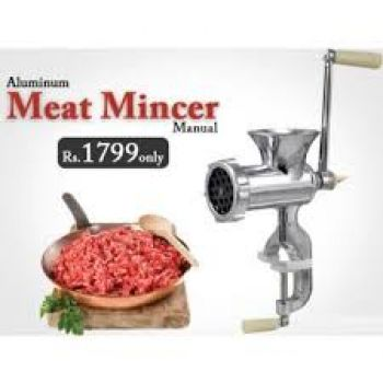 Aluminium Meat Mincer Grinder in Pakistan