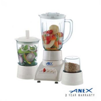 Anex-6023 Blender 3 in 1 350w With-white