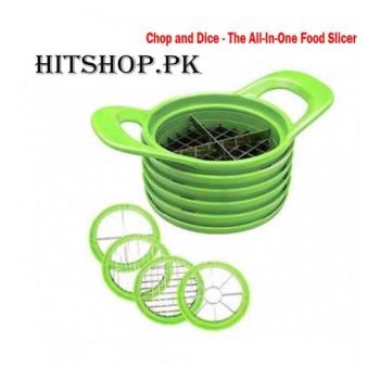 Chop And Dice - The All In One Food Slicer