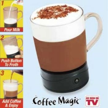 Coffee Magic Frothing Cup