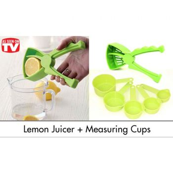 Lemon Juicer With 5 Measuring Cups