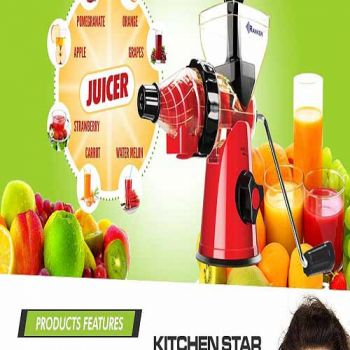 Ranker Kitchen Star Juicer