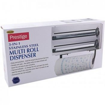 Stainless Steel 3-in-1 Multi Roll Dispenser in Pak
