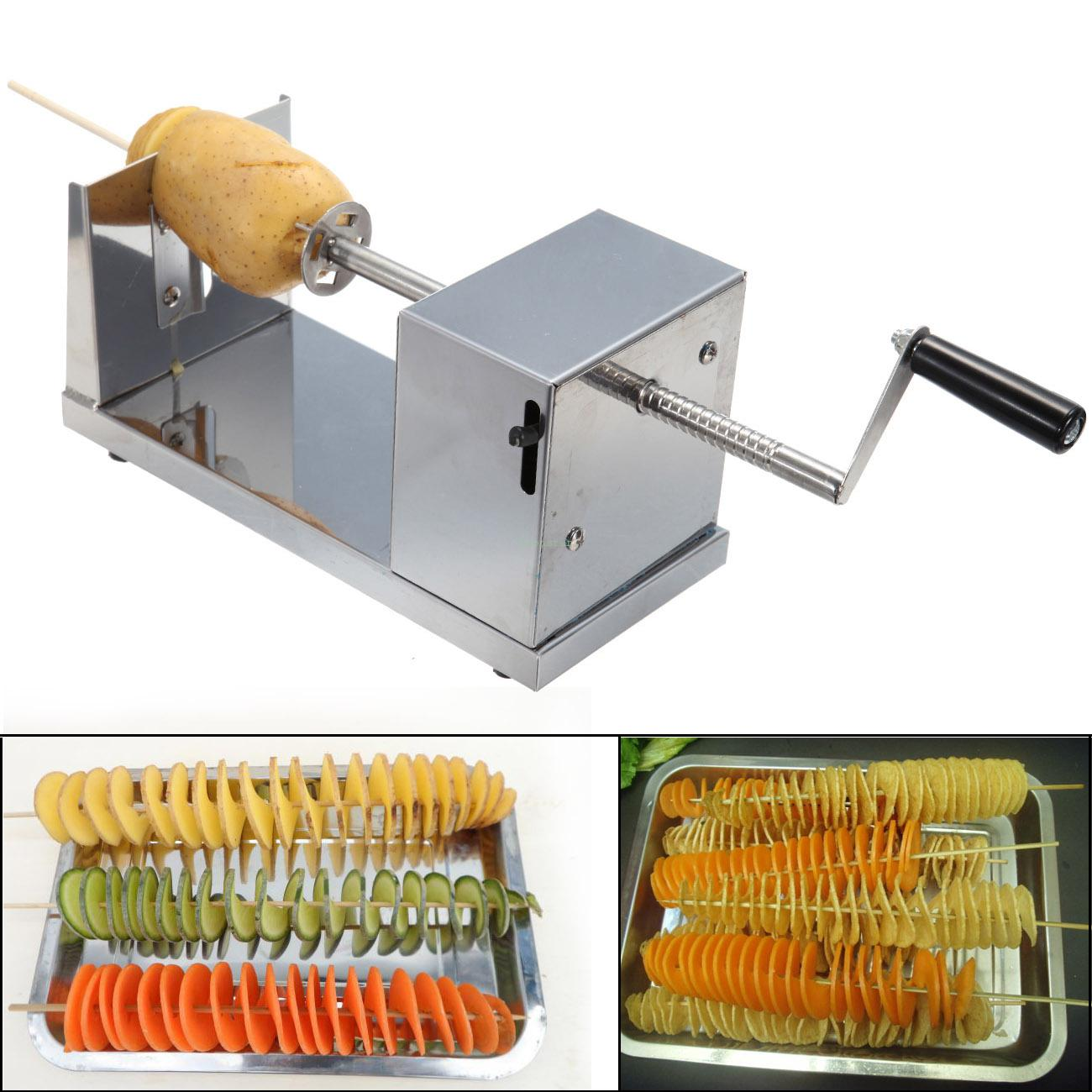 New Stainless Steel Potato Slicer