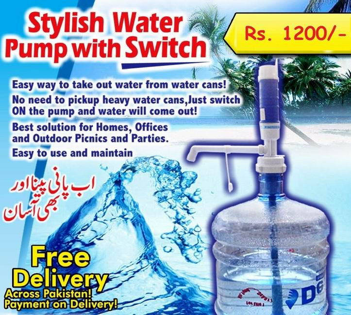 Electronic Water Dispenser Pump in Pakistan