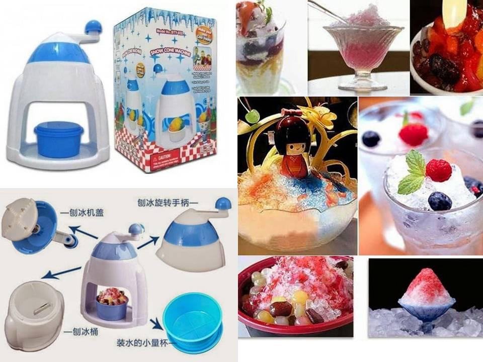 Ice Shaver Machine Home Made Gola Ganda