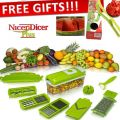 Nicer Dicer Plus Tool 12 Function With Free Gift Milon Slicer