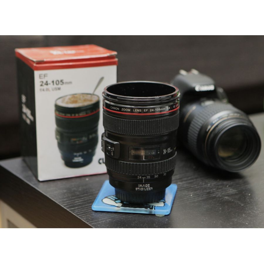 Camera lens shaped coffee mug in pakistan hitshop Nikon camera lens coffee mug