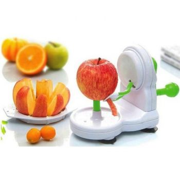 Fruit And Veggie Peeler And Slicer Machine