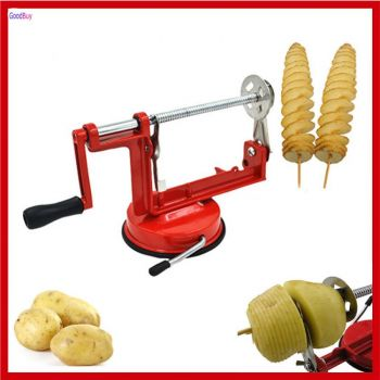 Stainless Steel Twisted Potato Apple Slicer Spiral