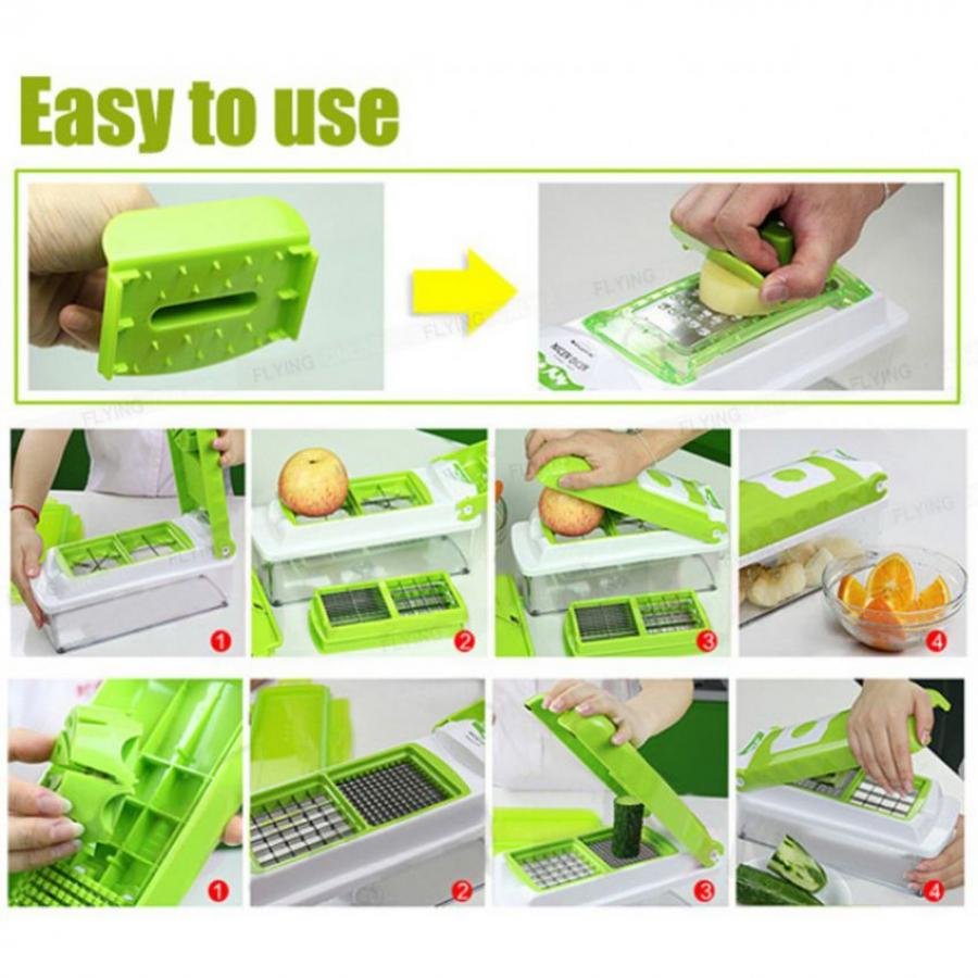 Food Factory Nicer Dicer 10 In 1 In Pakistan Hitshop