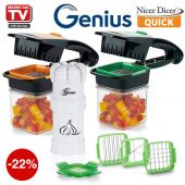 Nicer Dicer Quick - hand-held chopping, slicing, d