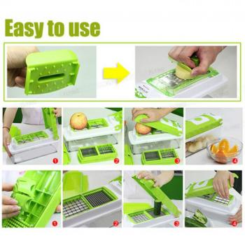 Food Factory Nicer Dicer 10 In 1