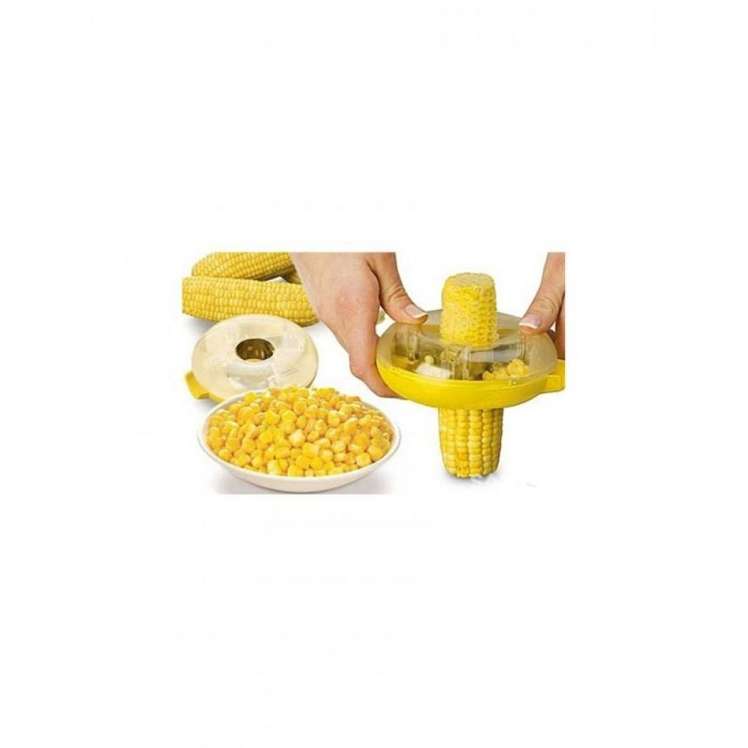 CM Corn Kerneler Kitchen Tool - Yellow